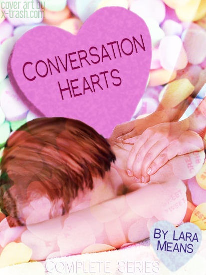 Conversation Hearts by Lara Means