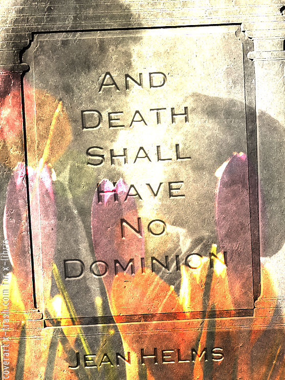 Book Cover: And Death Shall Have No Dominion by Jean Helms