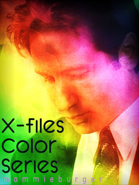 Book Cover: X-Files Color Series by mommieburger