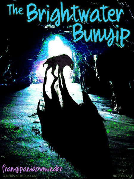 Book Cover: The Brightwater Bunyip by FrangipaniDownunder