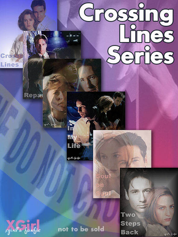 Book Cover: The Crossing Lines Series by xgirl