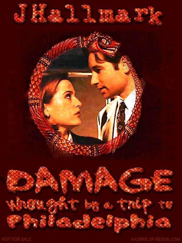 Book Cover: Damage Wrought by a Trip to Philadelphia by JHallmark