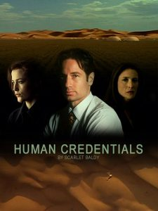 Book Cover: Human Credentials by Scarlet Baldy