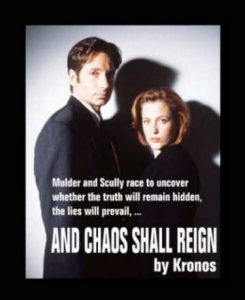 Book Cover: And Chaos Shall Reign by Kronos