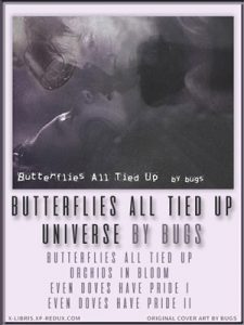 Book Cover: Butterflies All Tied Up by bugs