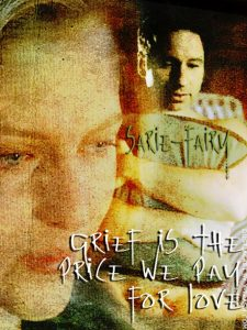 Book Cover: Grief is the Price We Pay For Love by SarieFairy