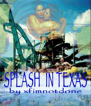 Book Cover: Splash in Texas, A & Fireworks by xfimnotdone