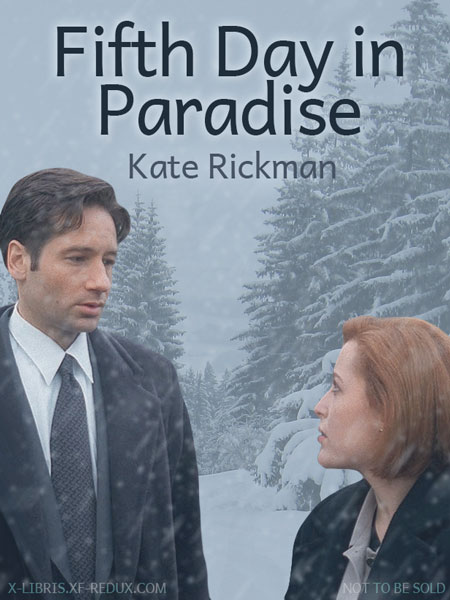 Book Cover: Fifth Day in Paradise by Kate Rickman
