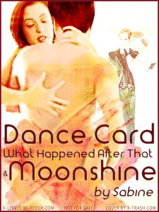Dance card cover